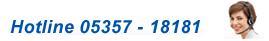 Telefon-Hotline - 05357 181 81