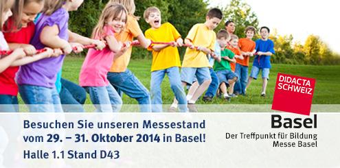 Sport-Thieme auf der DIDACTA in Basel, 29. - 31.10.2014