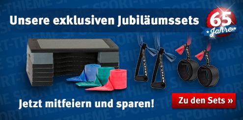 Die exklusiven Jubiläumssets von Sport-Thieme: Mitfeiern und sparen!