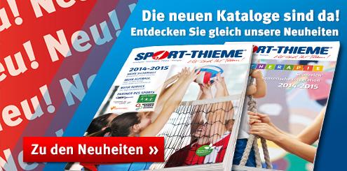 Sport-Thieme: Die neuen Kataloge sind da!