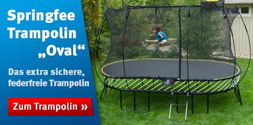 outdoor trampoline preiswert im sport thieme online shop kaufen. Black Bedroom Furniture Sets. Home Design Ideas