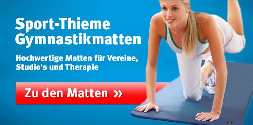 Sport-Thieme Gymnastikmatten: Hochwertige Matten für Studio und Therapie