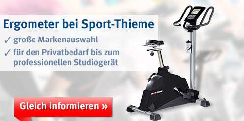 Sport-Thieme: Ergometer für zu Hause und das Studio