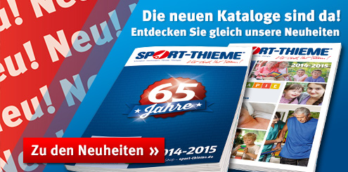 Entdecken Sie die Neuheiten bei Sport-Thieme!