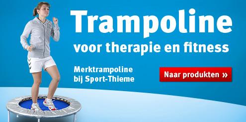 Trampoline voor therapie en fitness