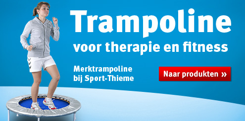 Trampoline voor therapie en fitness