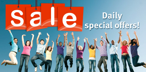 Sale - Daily special offers!