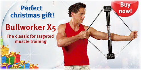 Bullworker X5 the classic for targeted muscle training
