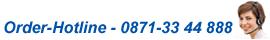 Order-Hotline - 0871 33 44 888